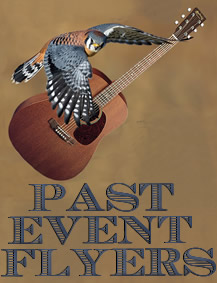 Past Flyers Made By TanyBug